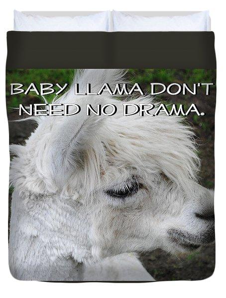 Baby Llama Duvet Cover