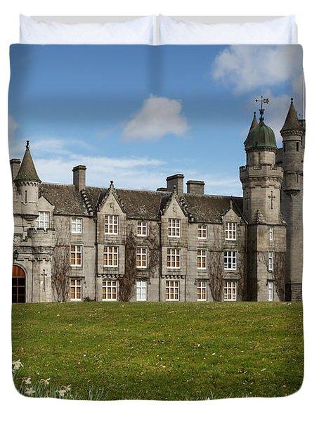Balmoral Castle Duvet Cover