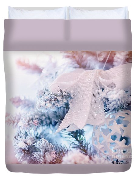 Beautiful Christmas Decoration Duvet Cover