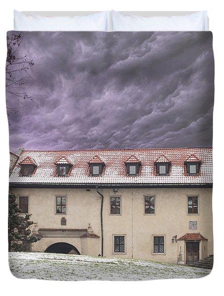 Benedictine Abbey Duvet Cover