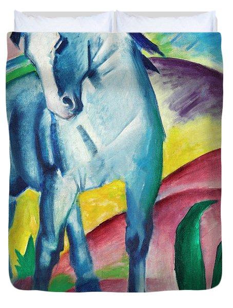 Blue Horse Duvet Cover