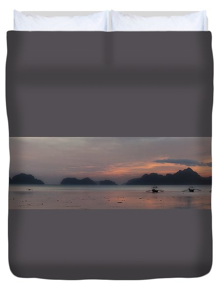 3 Boats Duvet Cover
