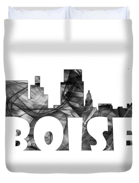 Boise Idaho Skyline Duvet Cover