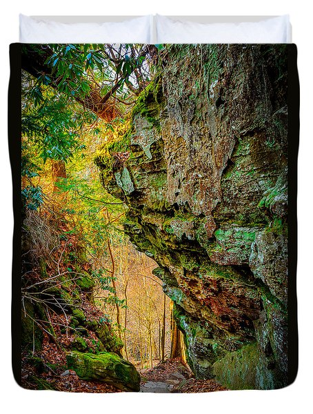 3 Bridges Trail #1 Duvet Cover