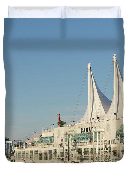 Canada Place Duvet Cover