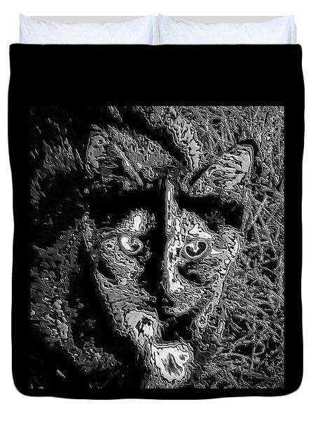 Coconut The Cat Duvet Cover