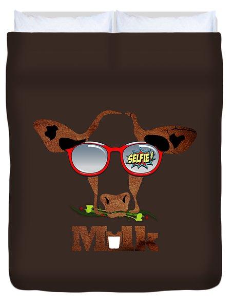 Cow Art Duvet Cover