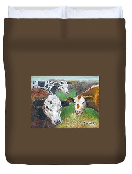 3 Cows Duvet Cover
