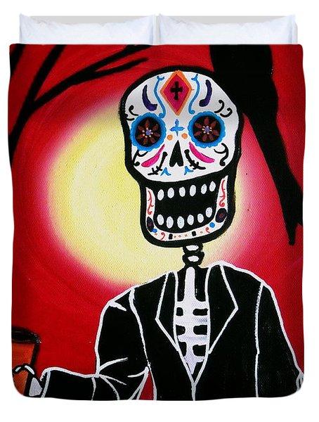 Dia De Los Muertos Duvet Cover