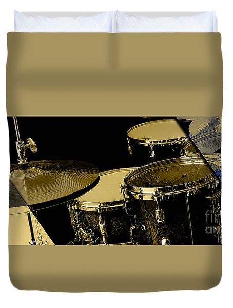 Drums Collection Duvet Cover