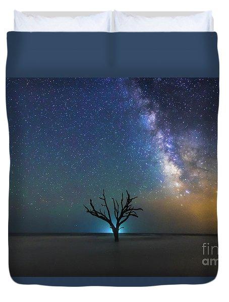 Edisto Island Milky Way Duvet Cover