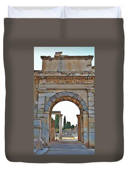 Ephesus Duvet Cover