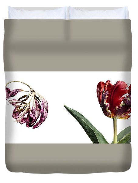 Fading Beauty Duvet Cover
