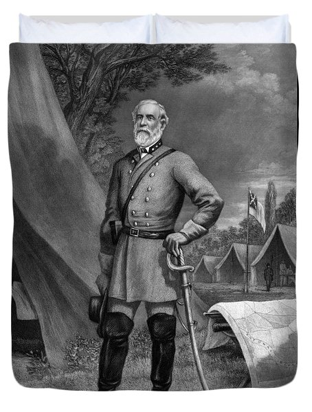 General Robert E Lee Duvet Cover by War Is Hell Store