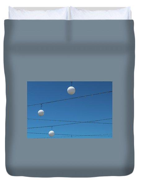 3 Globes Duvet Cover