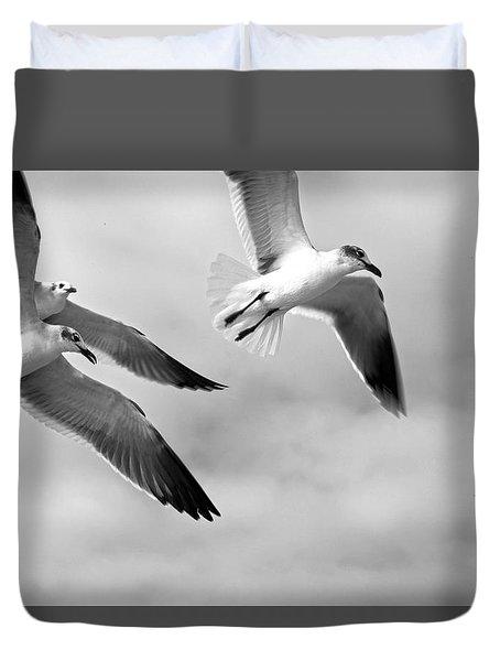 3 Gulls Duvet Cover