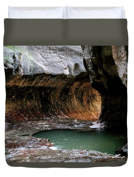 Duvet Cover featuring the photograph Hope by Brandy Little