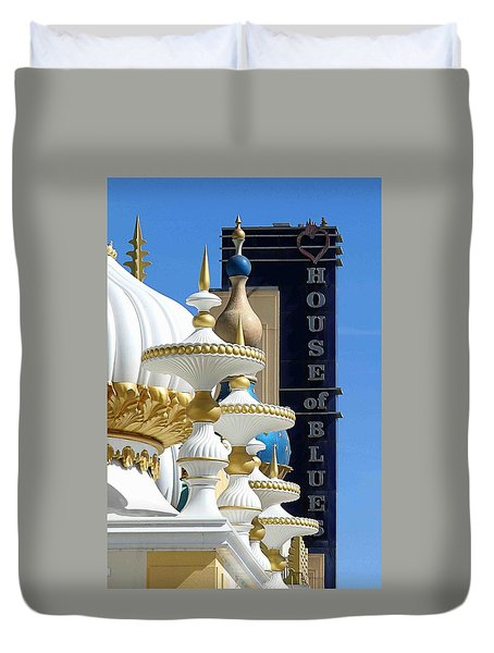 House Of Blues Duvet Cover by Allen Beilschmidt