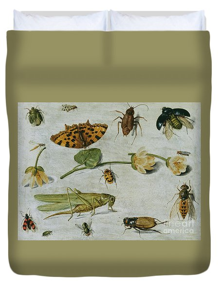 Insects Duvet Cover