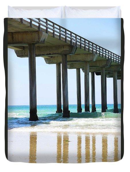 Into The Ocean Duvet Cover