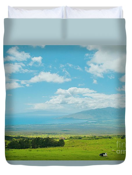Kula Maui Hawaii Duvet Cover by Sharon Mau