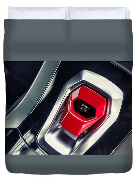 Lamborghini Huracan Duvet Cover
