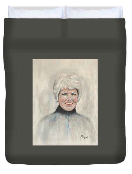 Margaret G Pope Duvet Cover
