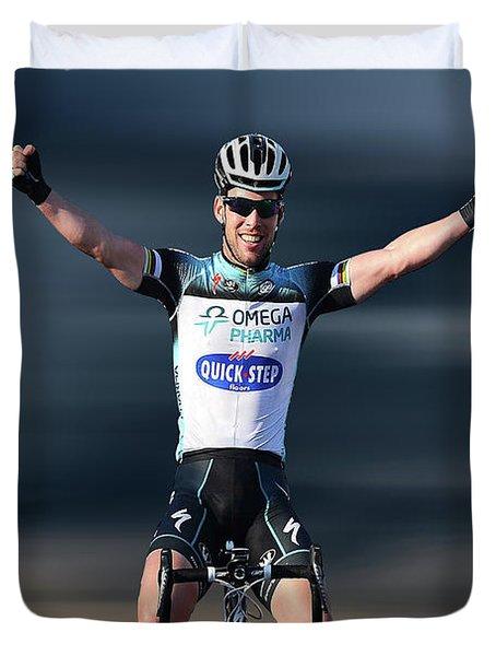 Mark Cavendish 4 Duvet Cover