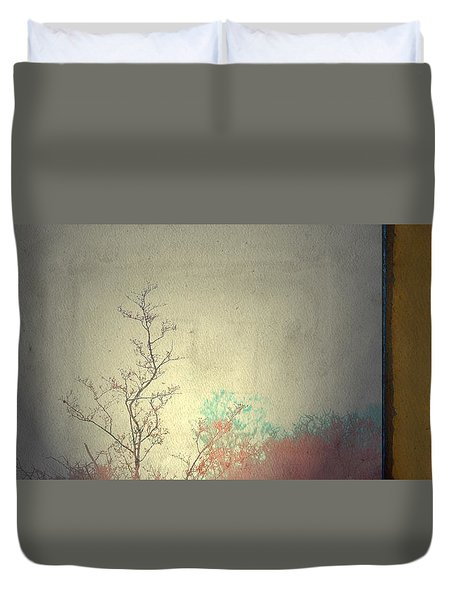 Duvet Cover featuring the photograph 3 by Mark Ross