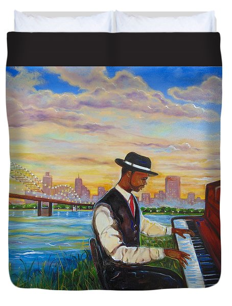 Memphis Duvet Cover by Emery Franklin