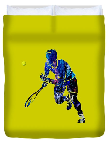 Mens Tennis Collection Duvet Cover