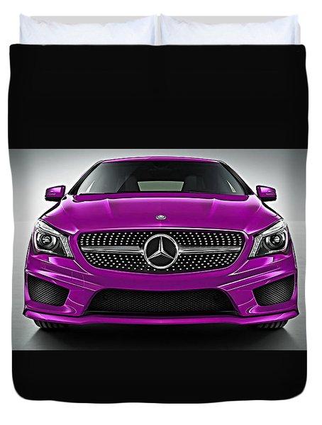 Mercedes Cla Class Coupe Collection Duvet Cover