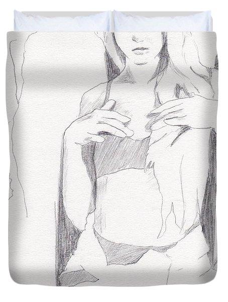 Missy - Sketch Duvet Cover