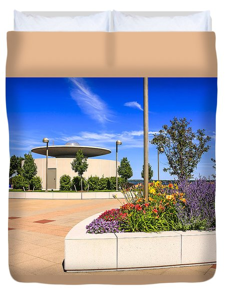 Monona Terrace Madison Duvet Cover