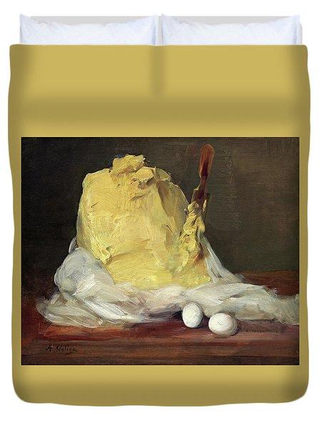 Mound Of Butter Duvet Cover
