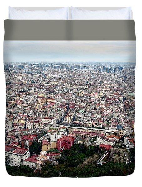 Naples Italy Duvet Cover