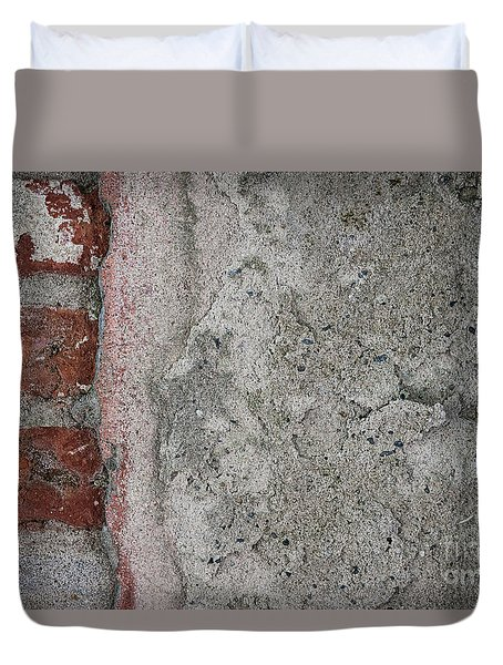 Duvet Cover featuring the photograph Old Wall Fragment by Elena Elisseeva