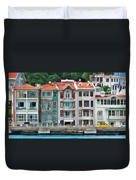 On The Bosphorus Duvet Cover
