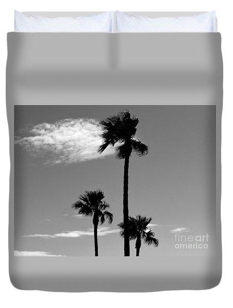 3 Palms Duvet Cover