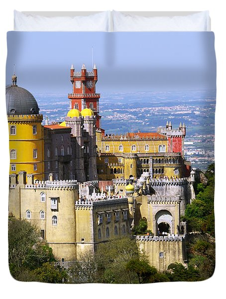 Pena Palace Duvet Cover