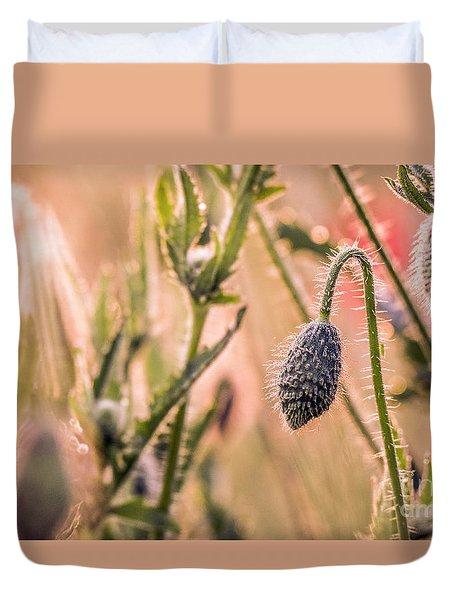 Poppy Flowers Duvet Cover