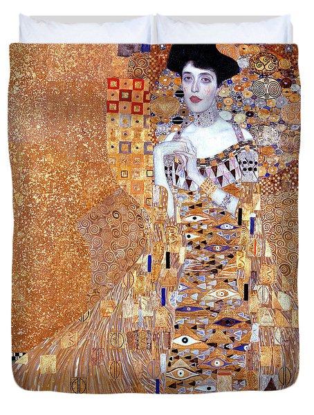 Portrait Of Adele Bloch-bauer I Duvet Cover