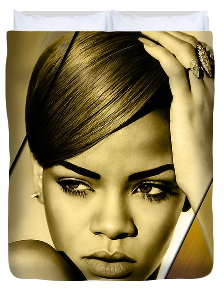 Rhianna Collection Duvet Cover by Marvin Blaine