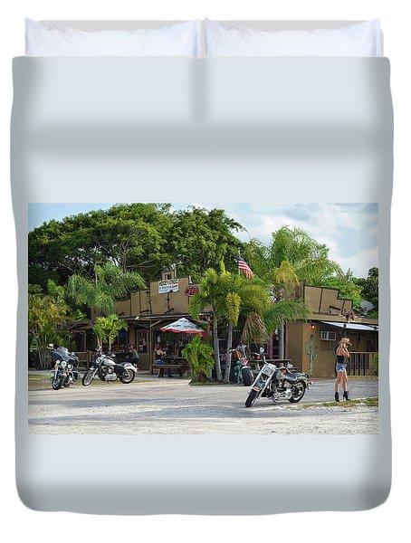 Roadhouse Duvet Cover