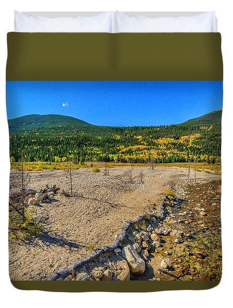Rocky Mountain National Park Colorado Duvet Cover