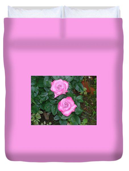 Paradise Rose Duvet Cover
