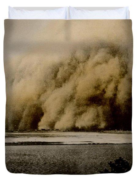 Sandstorm, Sudan, 1906 Duvet Cover