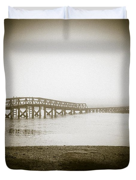 Sandwich Boardwalk Duvet Cover