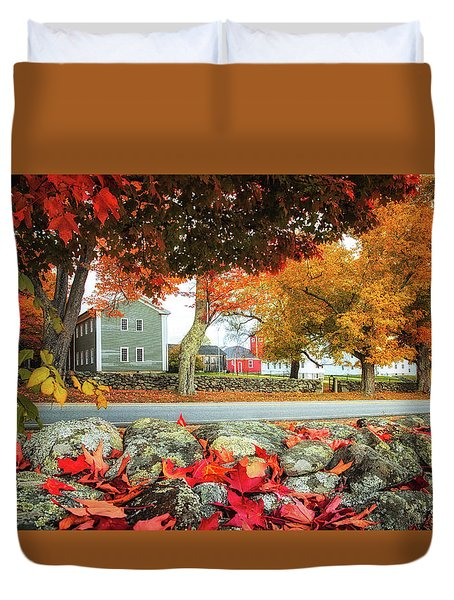 Shaker Village Duvet Cover