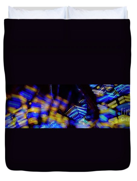 Singapore Night Urban City Light - Series - Your Singapore Duvet Cover